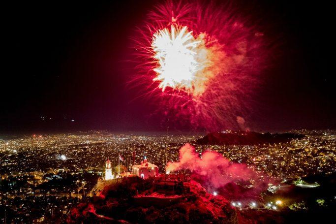 Έγινε η νύχτα… μέρα: Η τρομερή φωτογραφία από τον ουρανό της Αθήνας μετά το Χριστός Ανέστη(pic) | panathinaikos24.gr