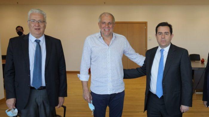 Συναντήθηκε με υπουργό ο Ομπράντοβιτς (Pic)   panathinaikos24.gr