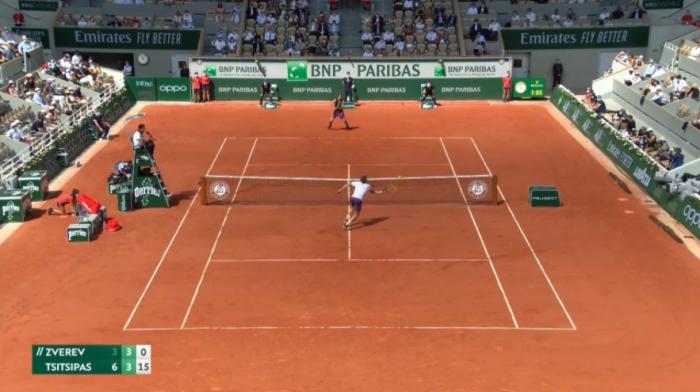 Ζβέρεφ – Τσιτσιπάς : Με θεαματικό τένις το 2-0 ο Στέφανος (vid) | panathinaikos24.gr